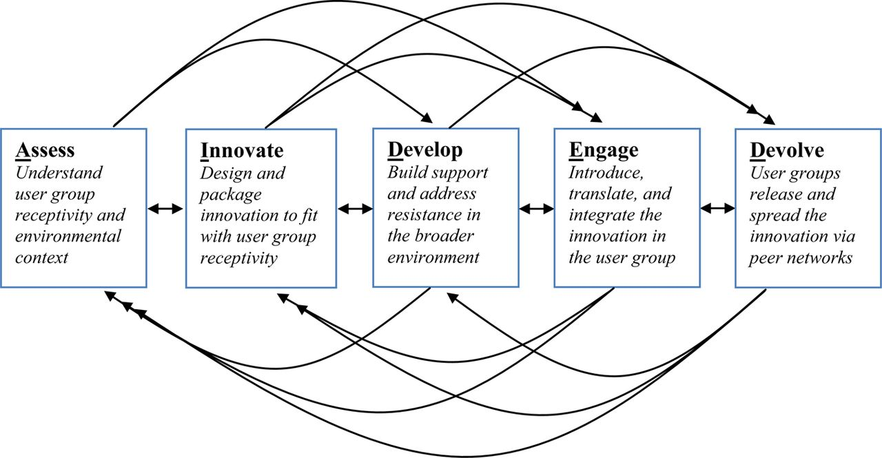 A model for scale up of family health innovations in low-income and ...