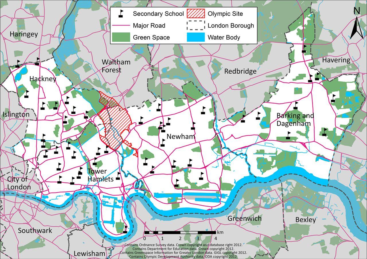 The Olympic Regeneration In East London Oriel Study