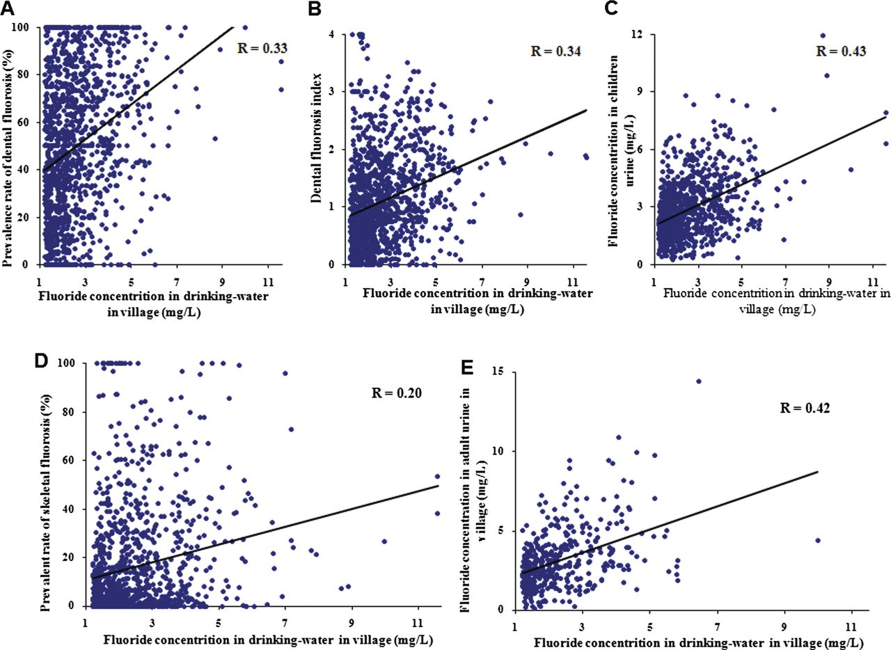 Higher Levels Of Urinary Fluoride >> A National Cross Sectional Study On Effects Of Fluoride Safe Water