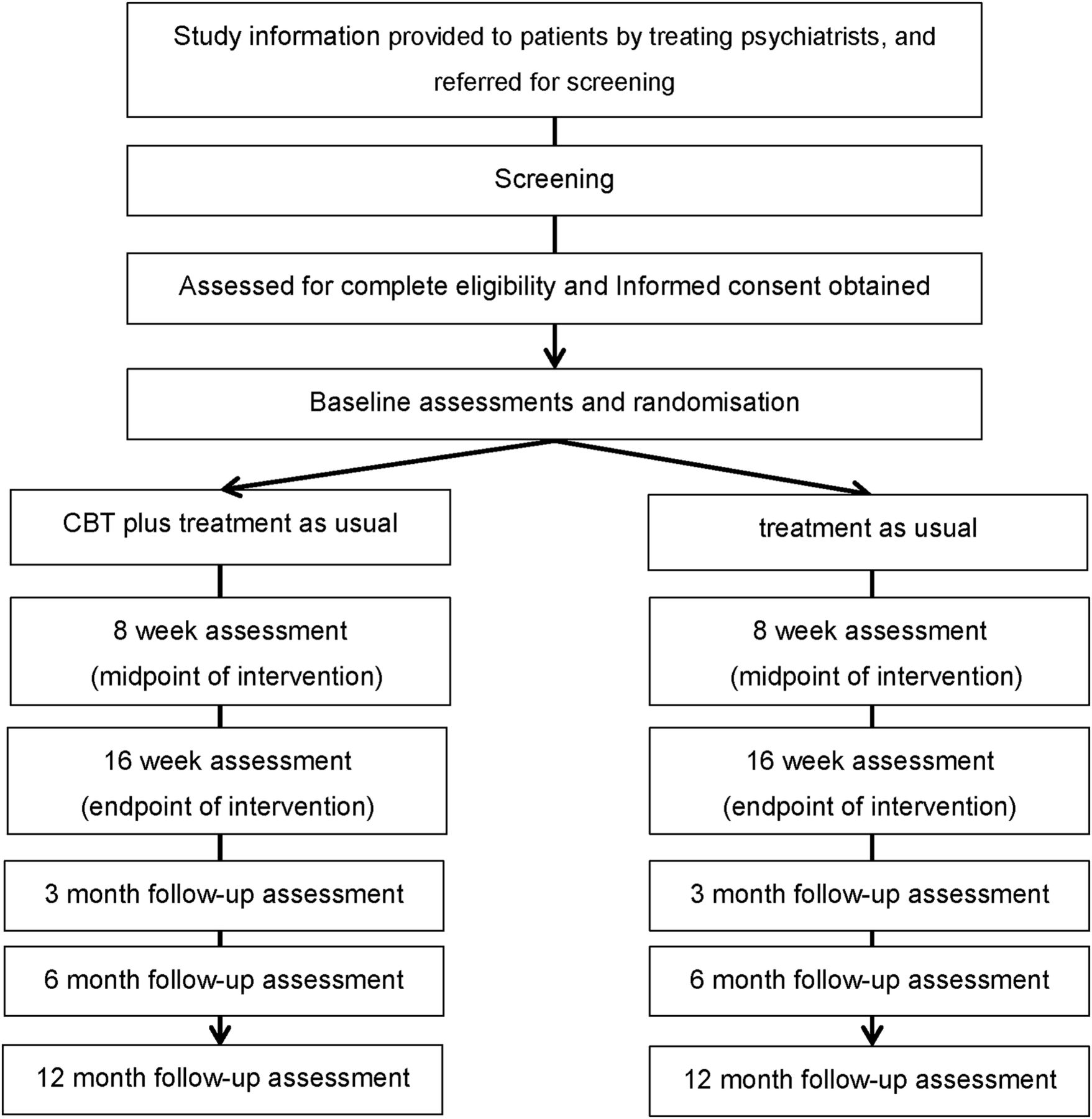 Evaluation of Cognitive Behavioural Therapy Effectiveness