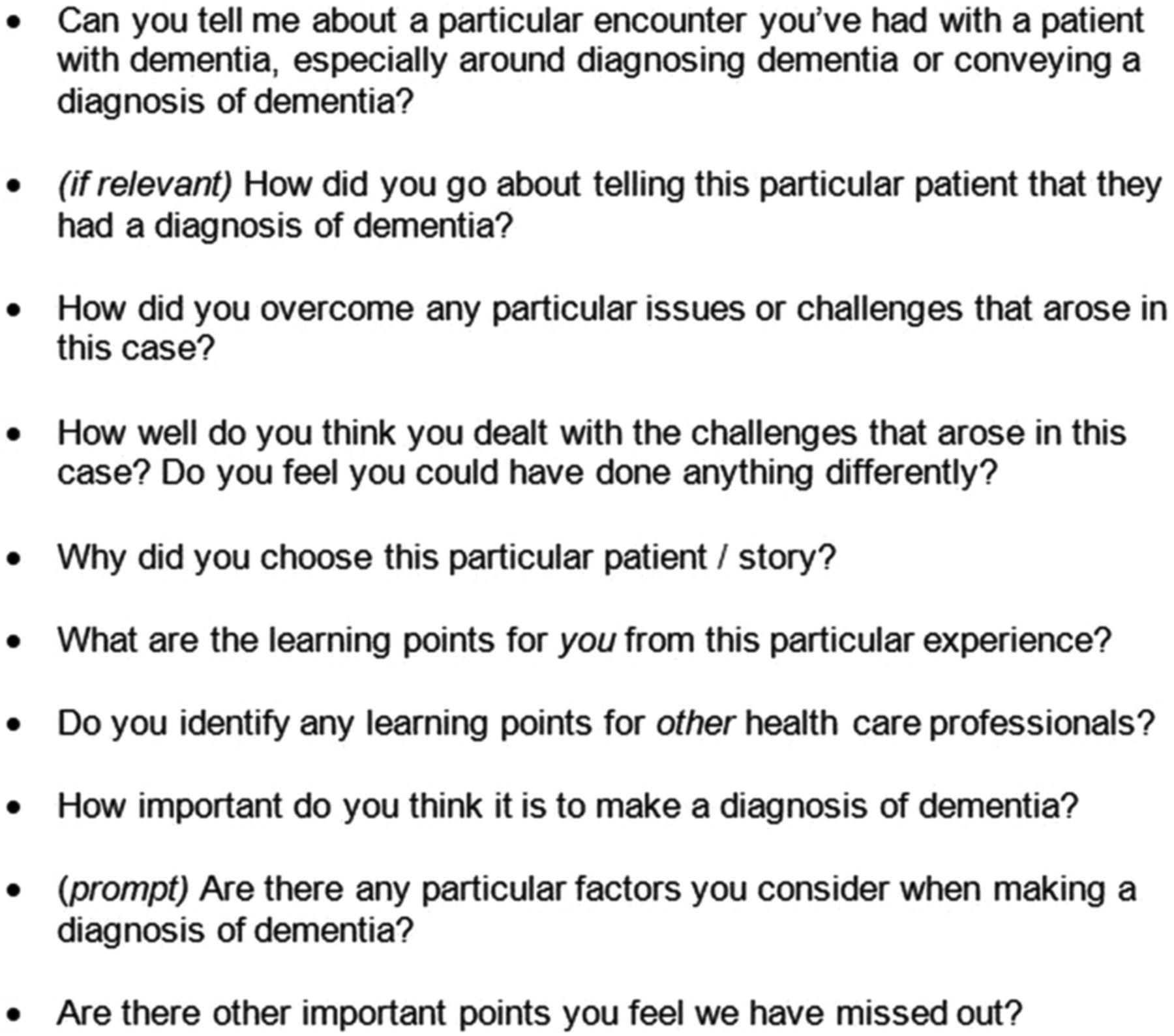 Dementia: Diagnosis Is a Complex Process Dementia: Diagnosis Is a Complex Process new photo