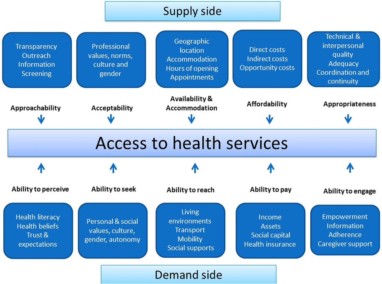 Determinants Of Access To Chronic Illness Care A Mixed