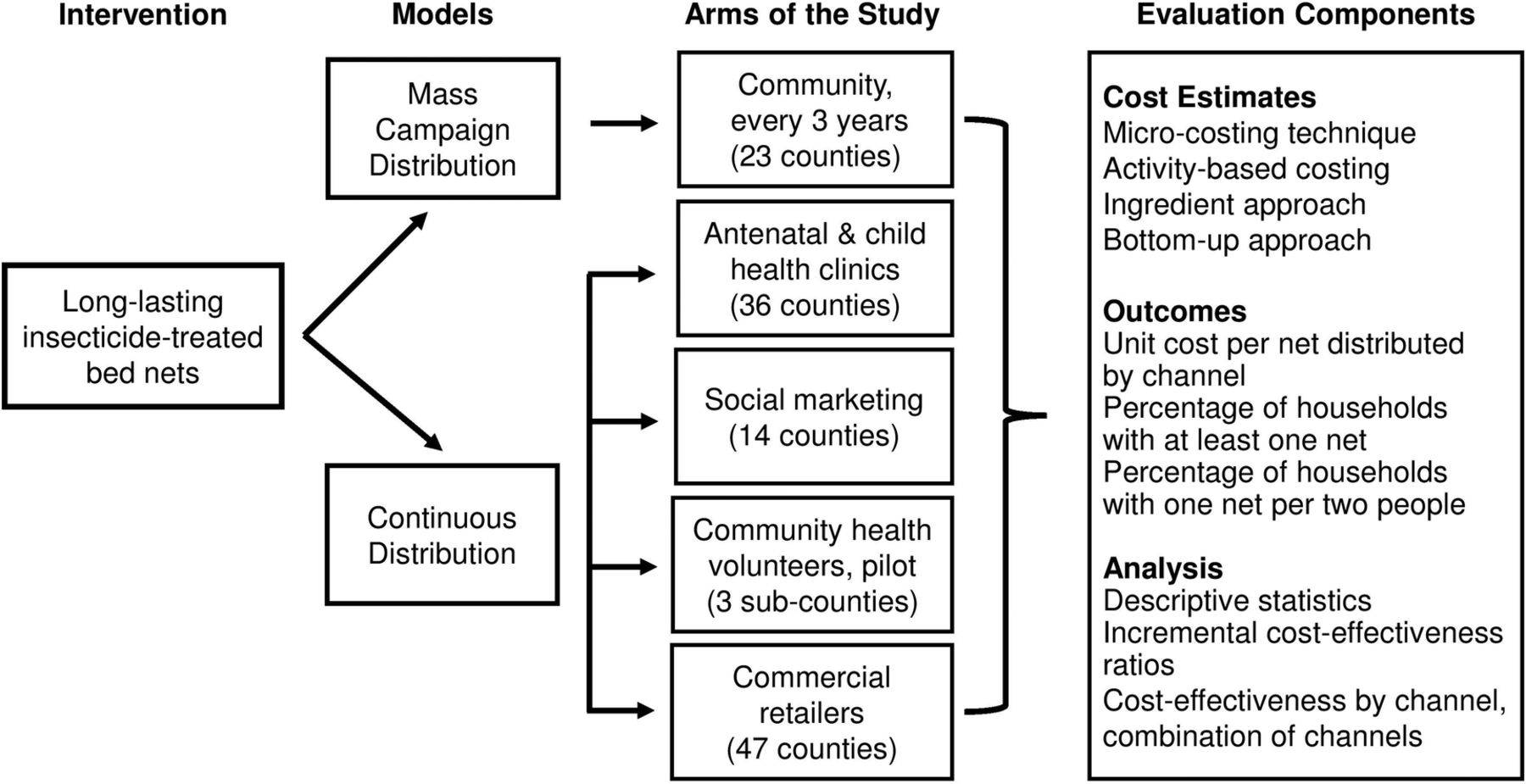 Large-scale implementation of disease control programmes: a cost
