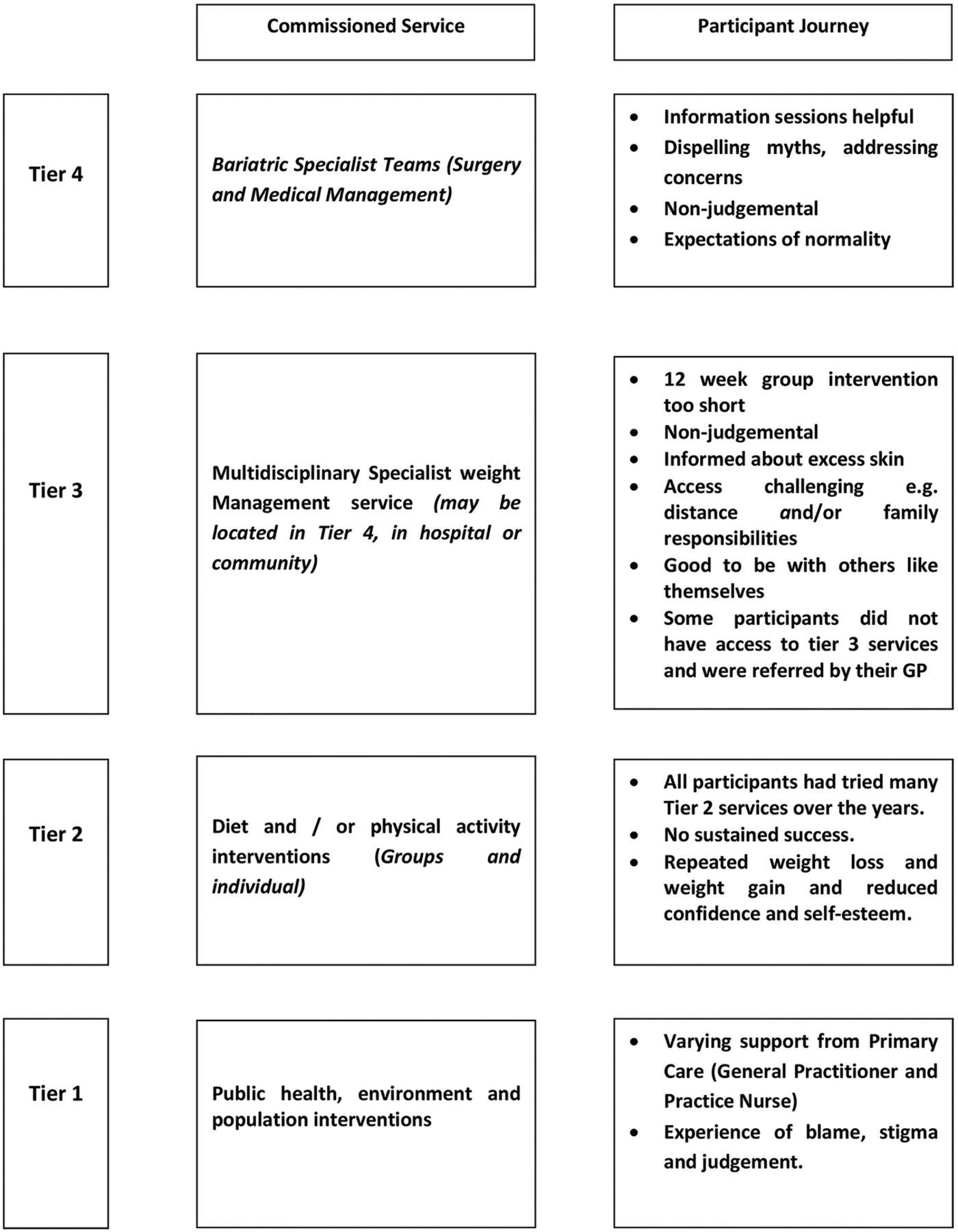 Expectations And Patients Experiences Of Obesity Prior To Bariatric