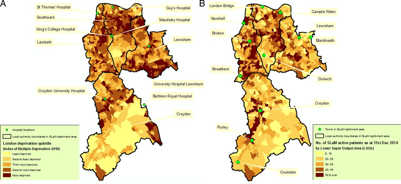 Cohort profile of the South London and Maudsley NHS
