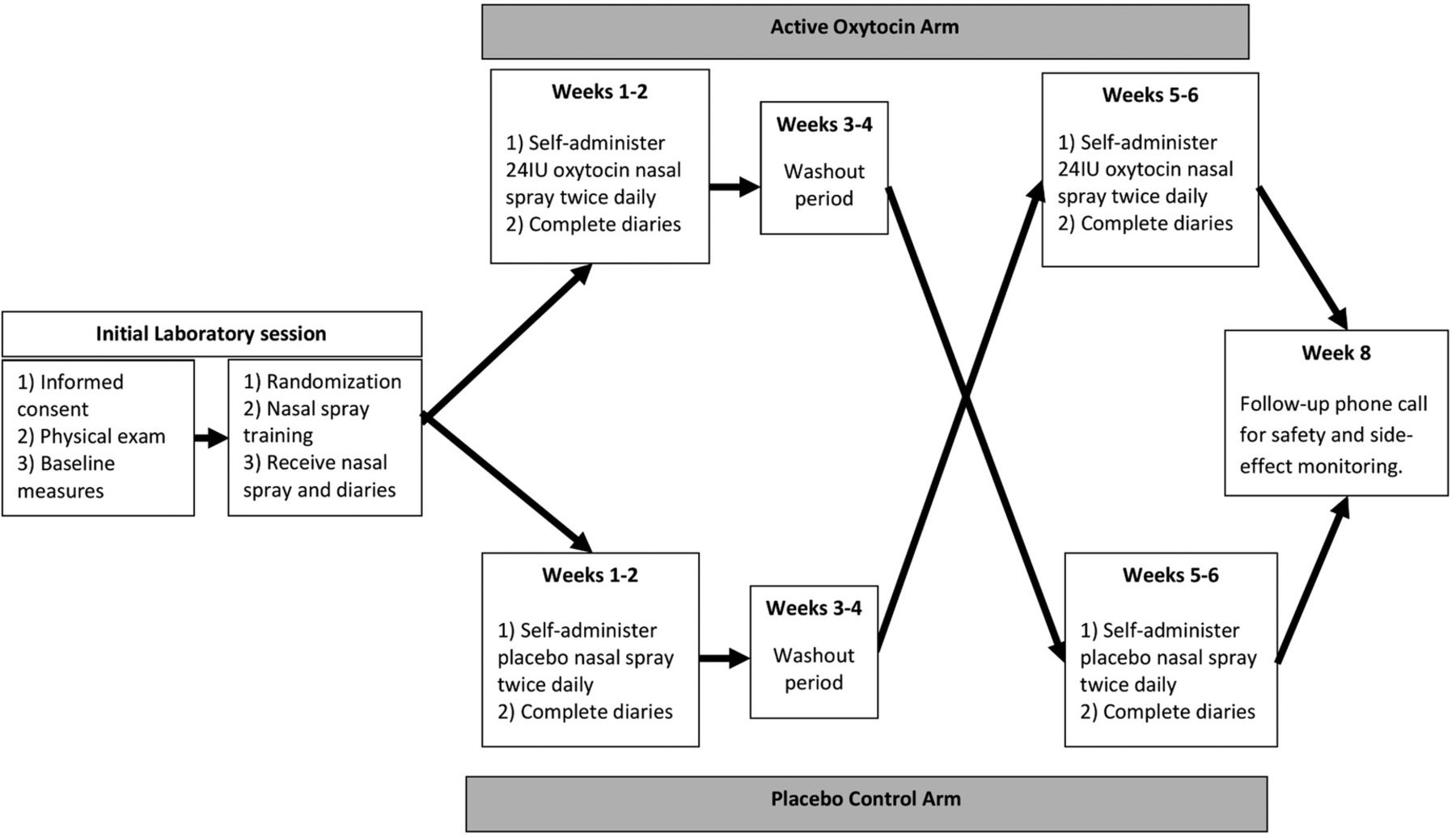 Protocol For A Placebo Controlled Within Participants