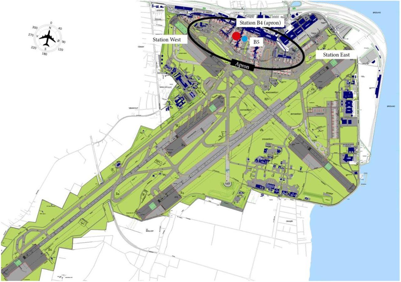 copenhagen airport cohort  air pollution  manual baggage handling and health