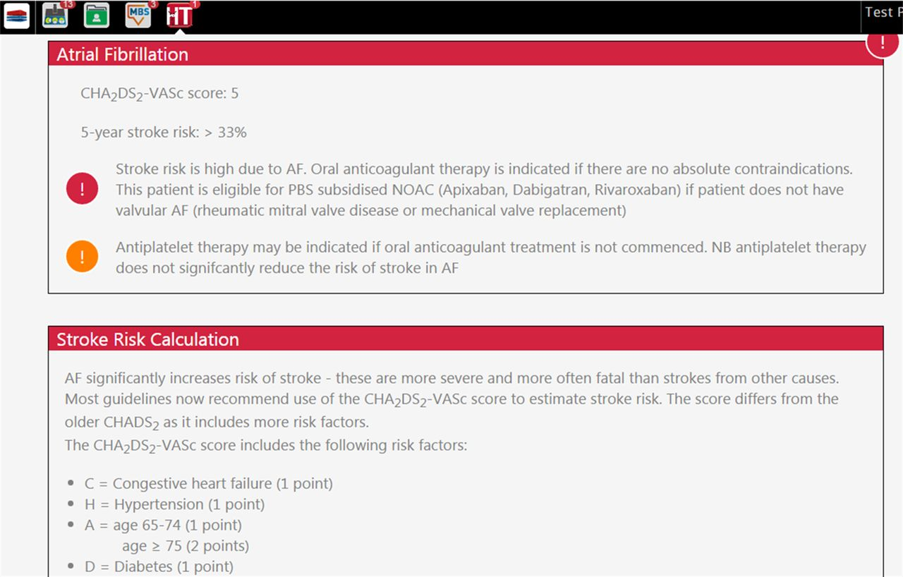 Atrial Fibrillation Screen Management And Guideline Recommended