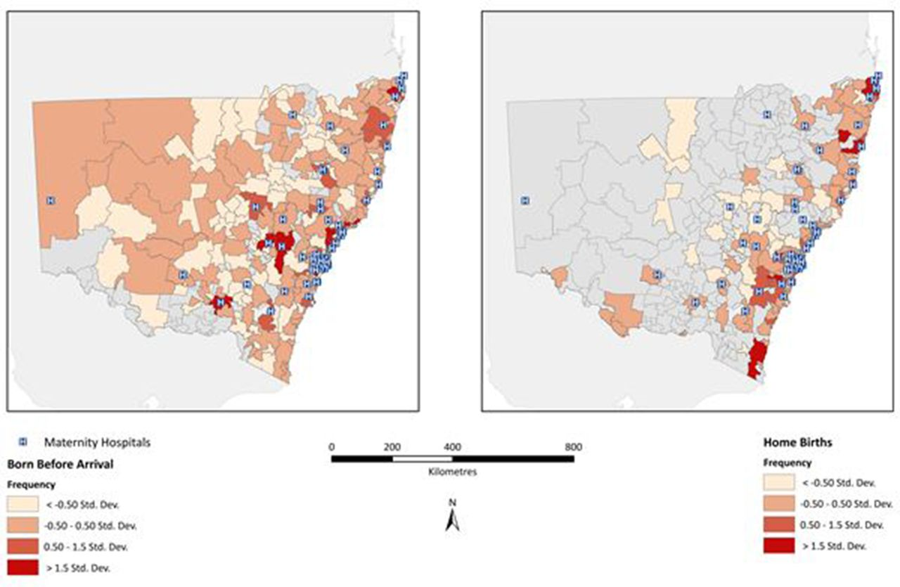 Born before arrival in NSW, Australia (2000–2011): a linked