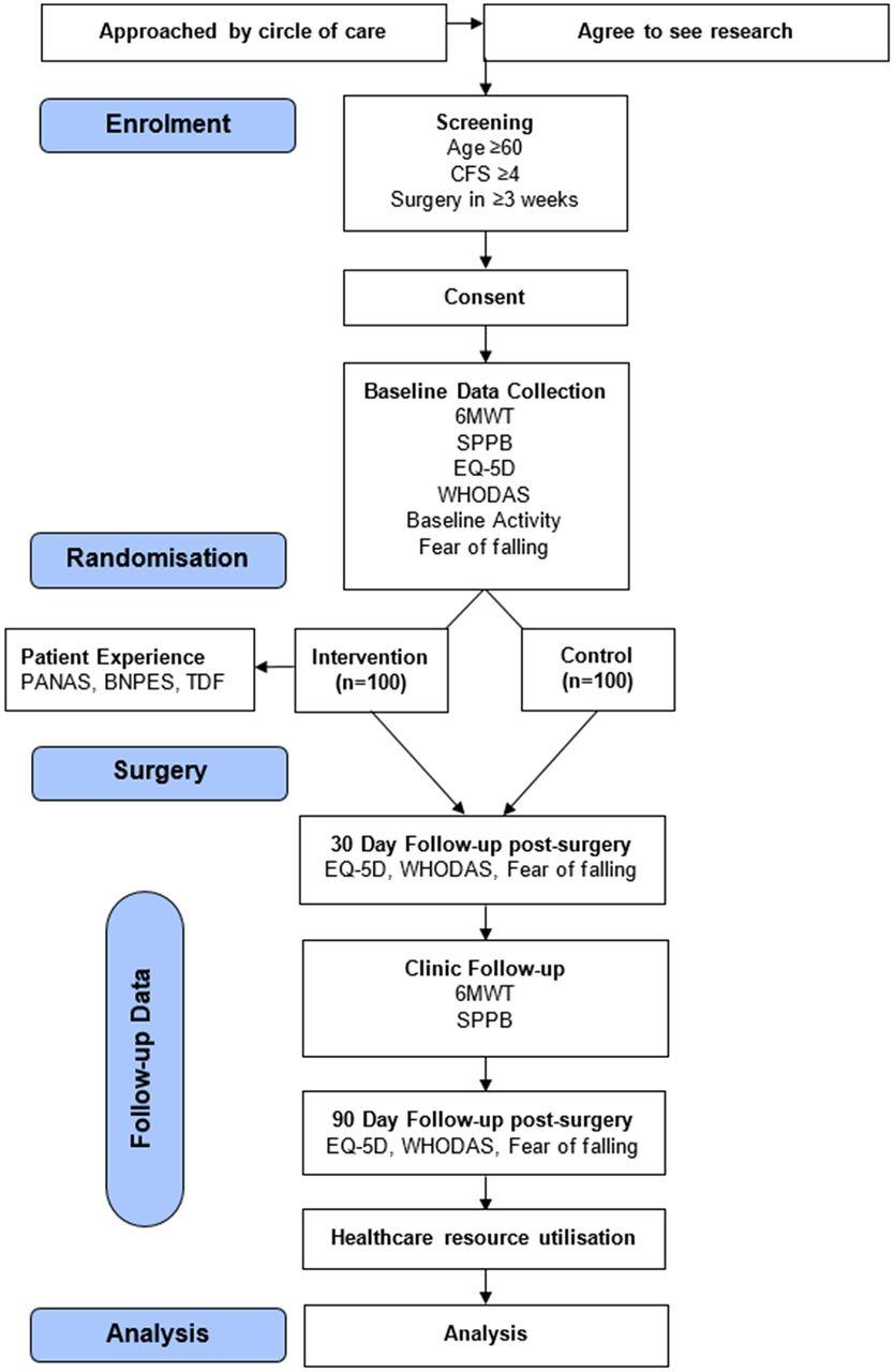 PREHAB study: a protocol for a prospective randomised