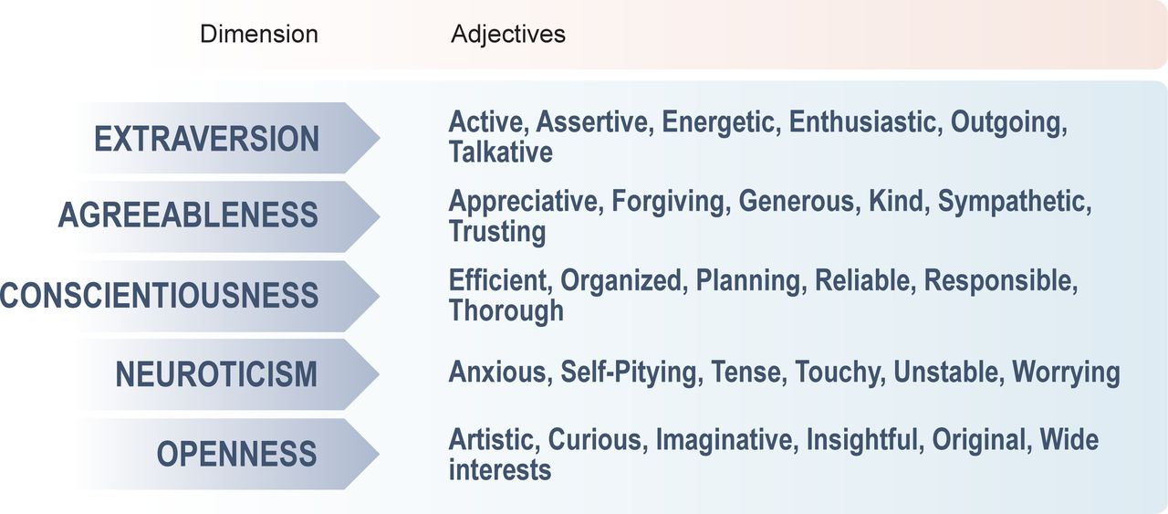 Different but similar: personality traits of surgeons and