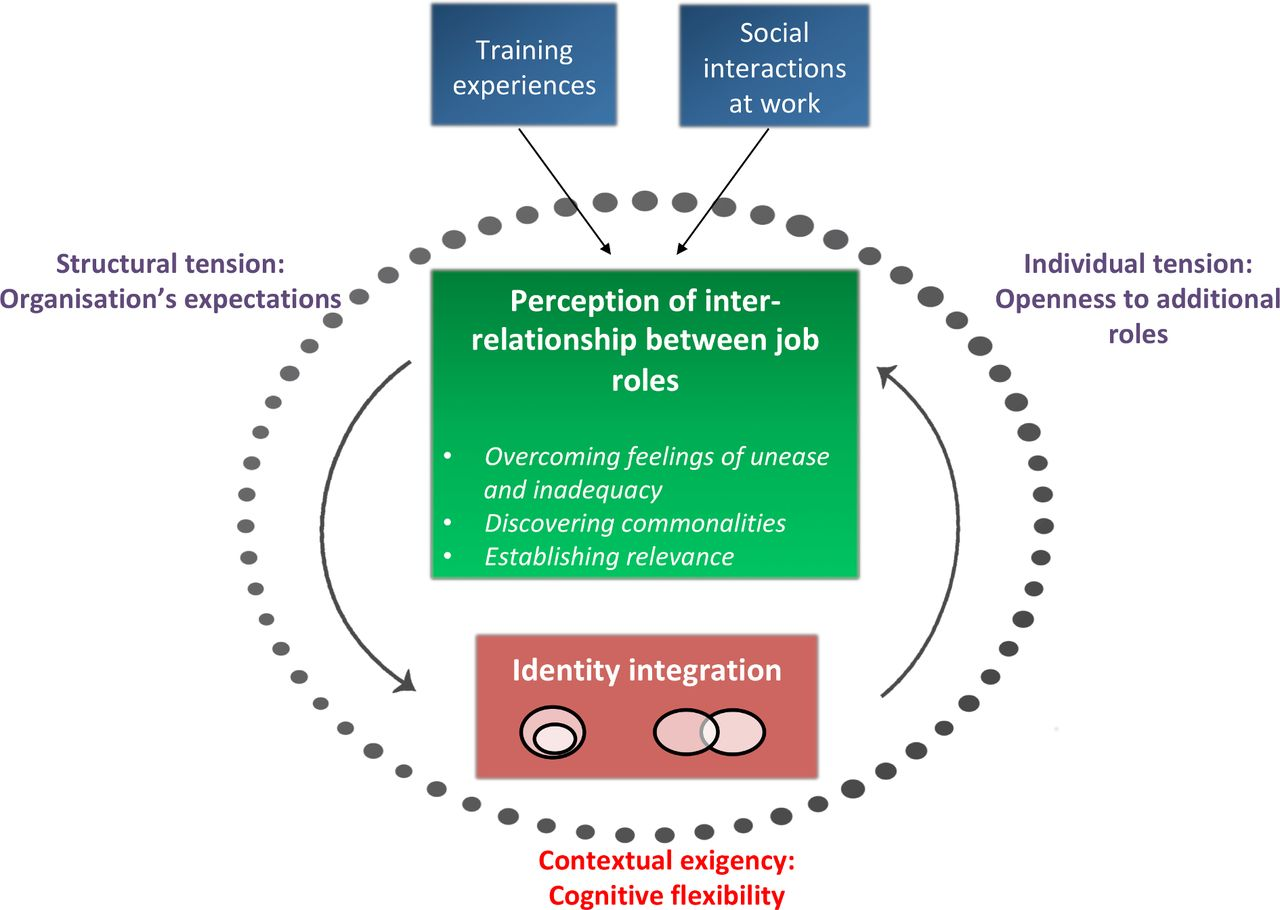 Tensions in integrating clinician and educator role identities: a