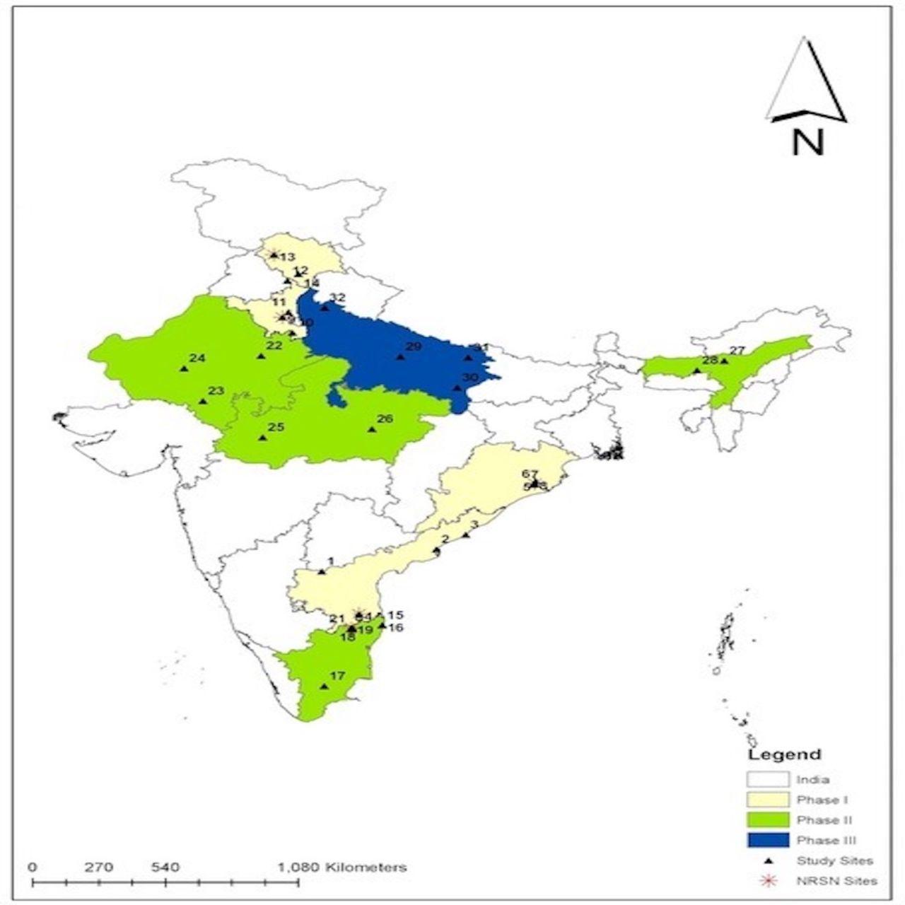Rotavirus vaccine impact assessment surveillance in India