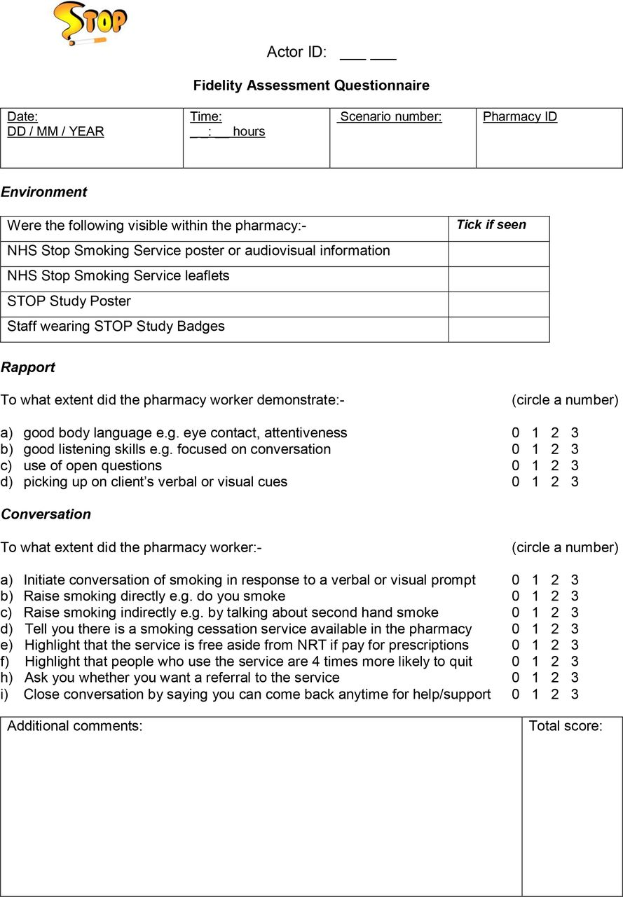 Evaluating NHS Stop Smoking Service engagement in community